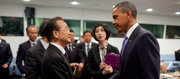 Barack Obama i Wen Jiabao