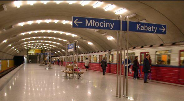 Metro Warszawskie, stacja Wierzbno