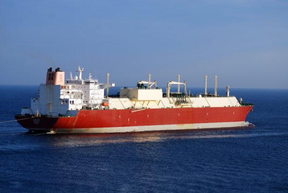 Tankowiec LNG Qatargas