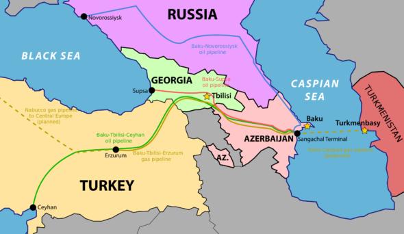Baku Tbilisi Ceyhan
