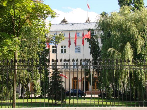 Ministerstwo Obrony Narodowej, Warszawa
