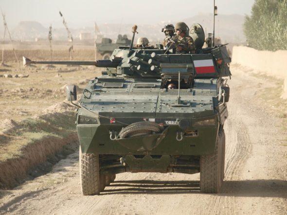 Polski Rosomak w Afganistanie,jpeg