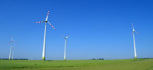 Turbiny wiatrowe w Austrii