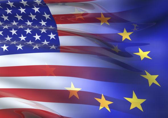 USA EU UE Europa Ameryka