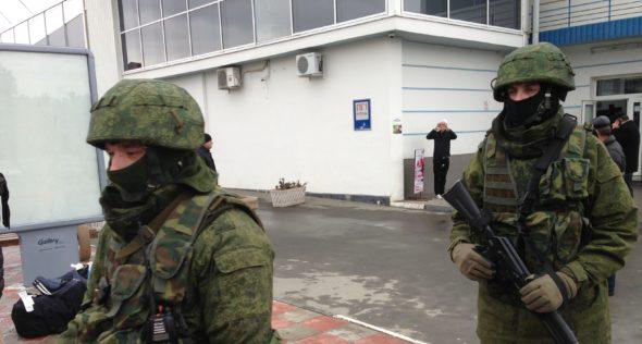 Zielone ludziki na Krymie
