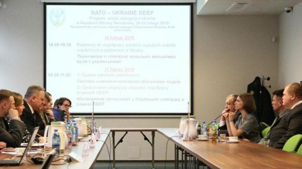 Szkolenie Polska-Ukraina w MON