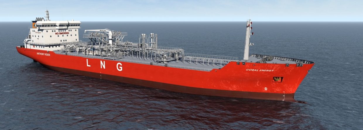 Tankowiec LNG Coral Energy. Fot. Wikimedia Commons