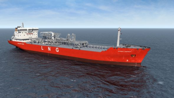 Tankowiec LNG Coral Energy