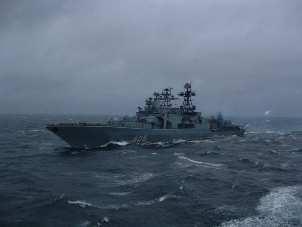 Admirał Leszczenko na Bałtyku