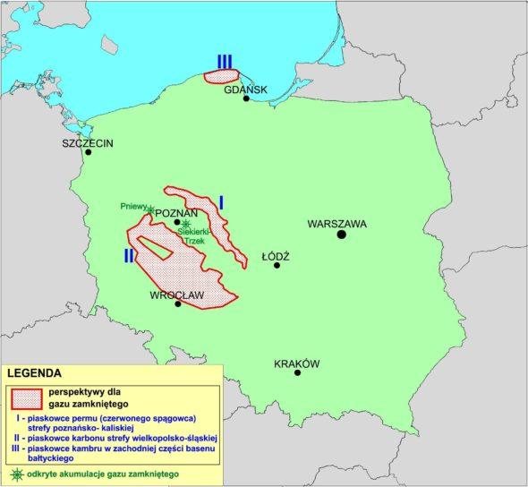 Tight Gas Mapa obszarów perspektywicznych_tg_pol