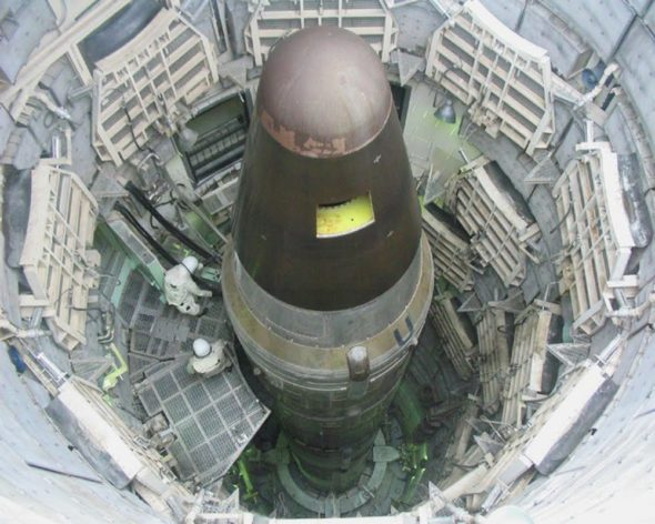 Bomba atomowa w silosie