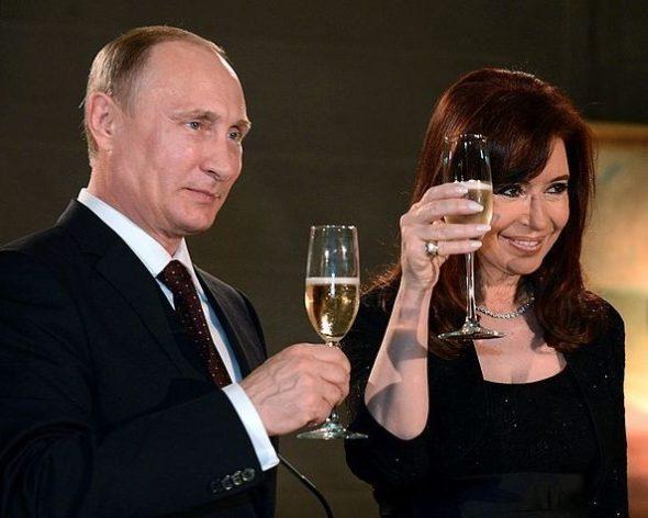 Cristina Fernández de Kirchner i Władimir Putin