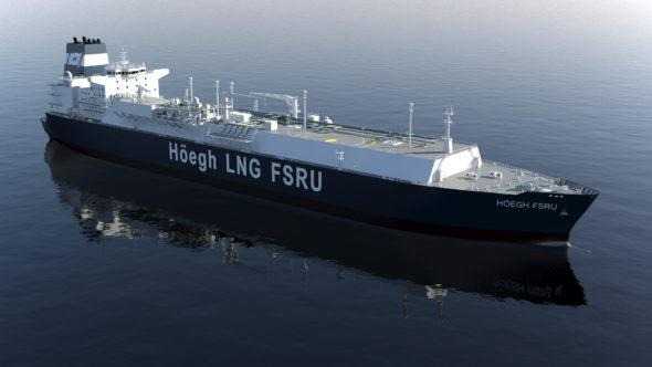 FSRU Free Float