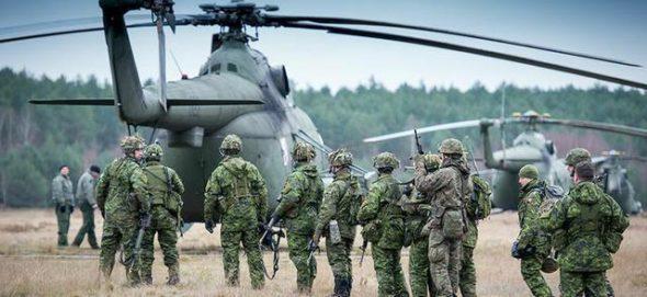 Wojsko Polskie na ćwiczeniach