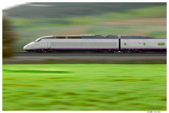 Pociąg dużych prędkości w Hiszpanii