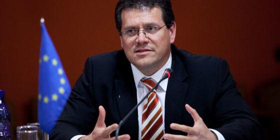 Marosz Szefczovicz. Fot. Komisja Europejska