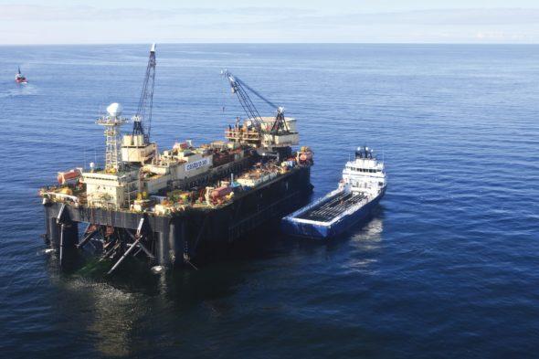 Castoro Sei: Offshore Pipelaying