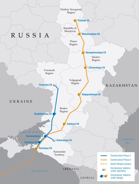Korytarz Południowy Rosja