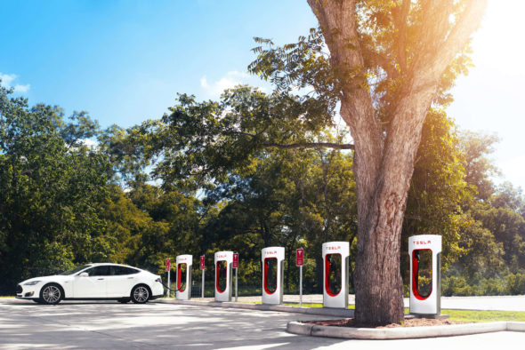 Supercharger Columbus Medium ©Tesla Motors