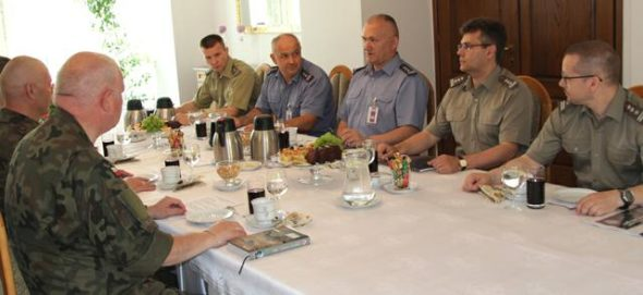 Spotkanie z przyszłymi attache obrony RP.