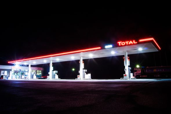 Stacja Total_Sękowice