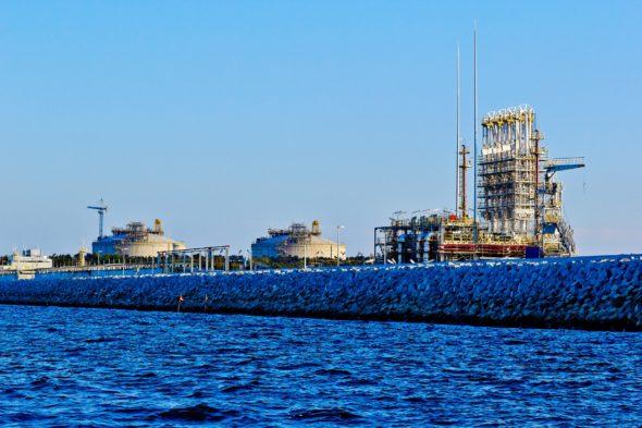 Terminal LNG w Świnoujściu. Fot. PLNG