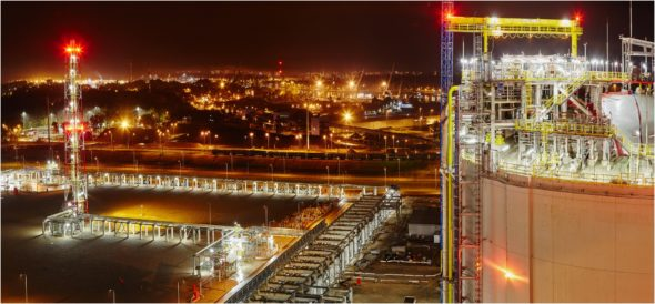 LNG gazoport Świnoujście (1)