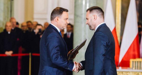Dawid Jackiewicz Andrzej Duda