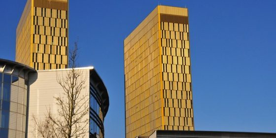 Siedziba ETS w Luksemburgu. Fot. Wikimedia Commons