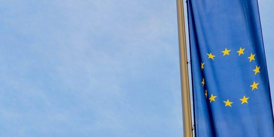 Flaga Unii Europejskiej. Fot. Wikimedia Commons