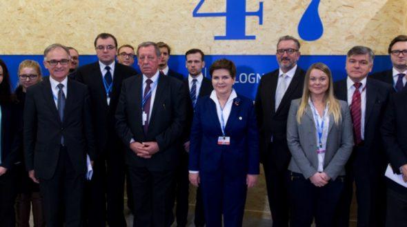 Beata Szydło i Jan Szyszko COP21