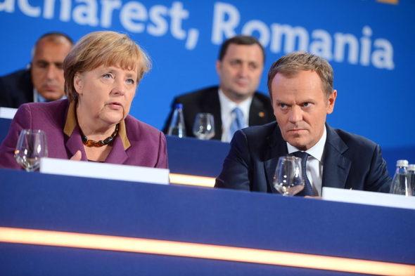 Donald Tusk Angela Merkel