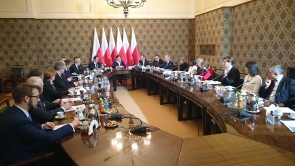 spotkanie rządu poświęcone polityce w elektroenergetyce