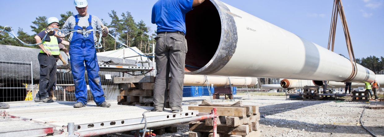 Budowa gazociągu. Fot. Nord Stream AG