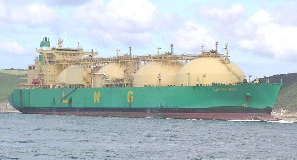 L.N.G. ship from Katar