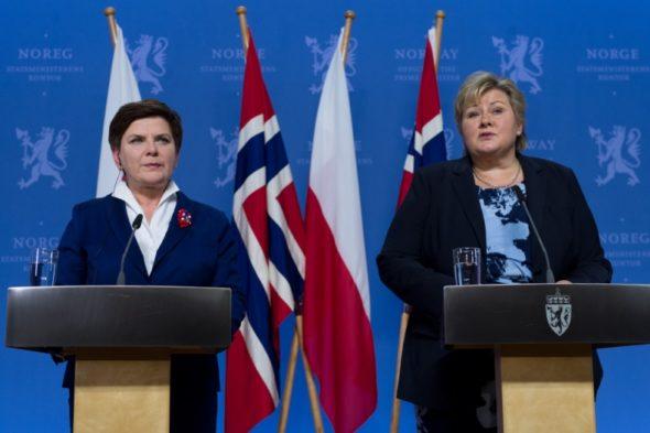 Beata Szydło Erna Solberg