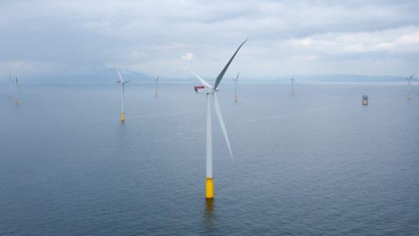 Hornsea Project morskie farmy wiatrowe offshore One turbiny wiatrowe OZE