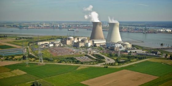 Elektrownia jądrowa Doel. Fot. Wikimedia Commons