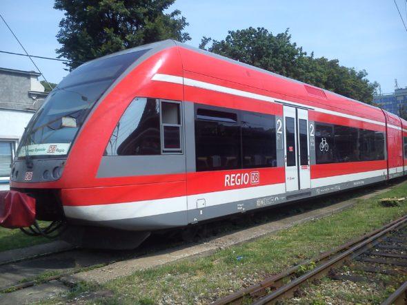 Szynobus DB Regeiio VT 646 do obsługi połączenia Zielona Góra – Berlin, fot. Przewozy Regionalne
