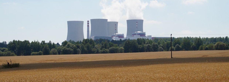 Elektrownia jądrowa w Temelinie. Fot. Wikimedia Commons