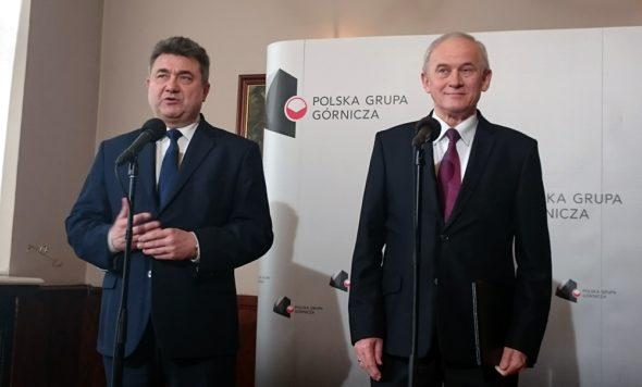 Grzegorz Tobiszowski i Krzysztof Tchórzewski