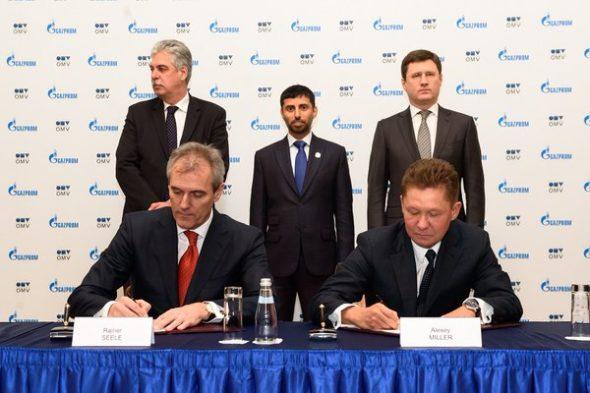 OMV Gazprom