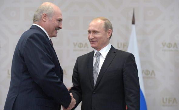 Putin i Łukaszenka
