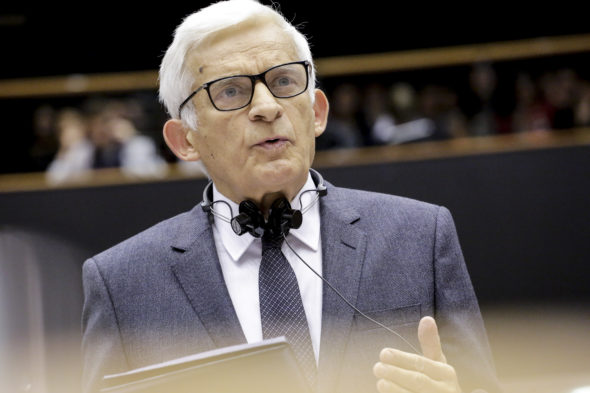 BUZEK, Jerzy Plenary Session week 42 2015 in Brussels Towards a new international climate agreement in Paris