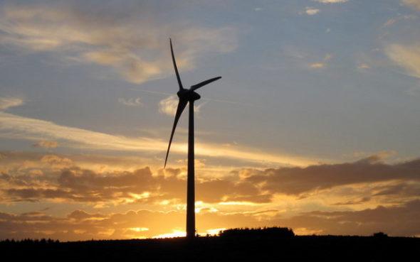 energetyka wiatrak ooze