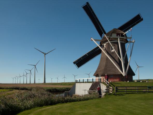 holandia energetyka wiatrak oze