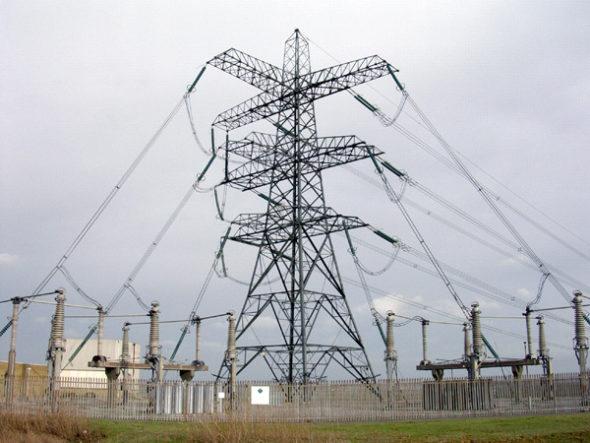energia energetyka kabel pylon
