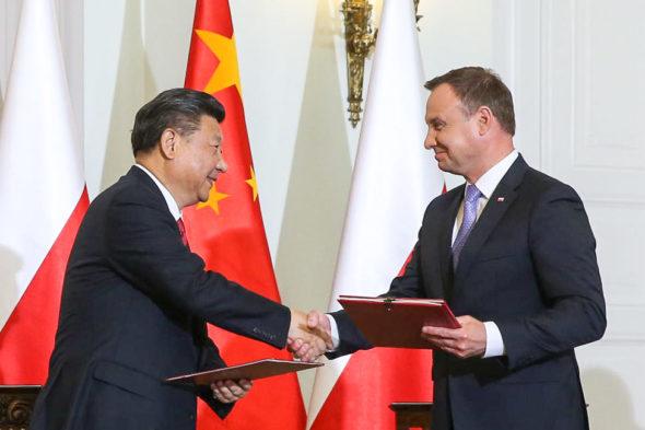 Polska Chiny