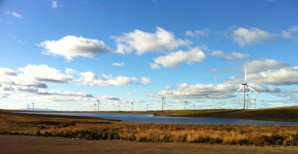 oze energetyka wiatrak