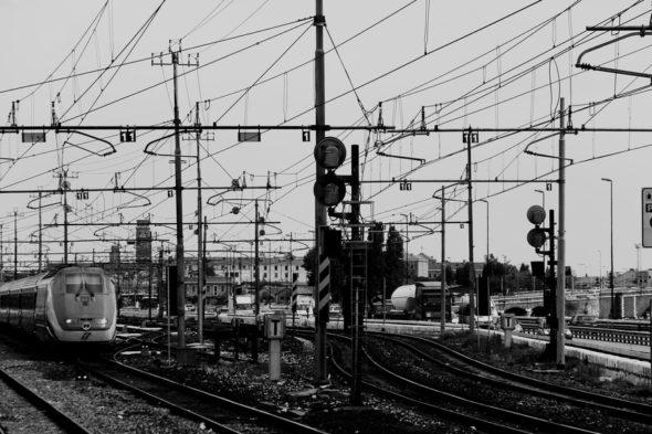 koleje transport tory